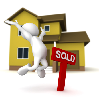 Delighted at having sold